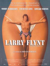 The People vs. Larry Flynt - 27 x 40 Movie Poster - French Style A