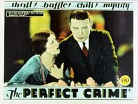 The Perfect Crime - 11 x 14 Movie Poster - Style A