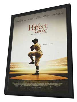 The Perfect Game - 11 x 17 Movie Poster - Style A - in Deluxe Wood Frame