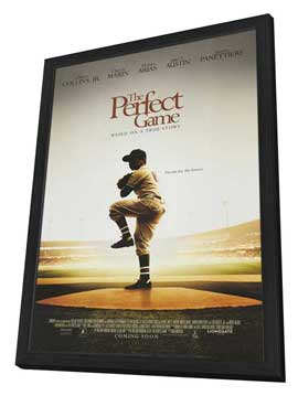 The Perfect Game - 27 x 40 Movie Poster - Style A - in Deluxe Wood Frame