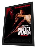 The Perfect Weapon - 27 x 40 Movie Poster - Style B - in Deluxe Wood Frame