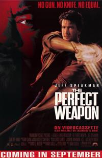 The Perfect Weapon - 11 x 17 Movie Poster - Style A