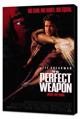 The Perfect Weapon - 27 x 40 Movie Poster - Style B - Museum Wrapped Canvas