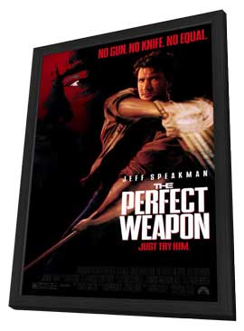 The Perfect Weapon - 11 x 17 Movie Poster - Style B - in Deluxe Wood Frame