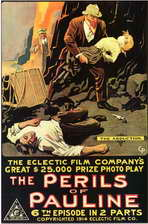 The Perils of Pauline - 11 x 17 Movie Poster - Style D