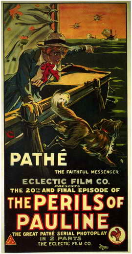 The Perils of Pauline - 11 x 17 Movie Poster - Style A