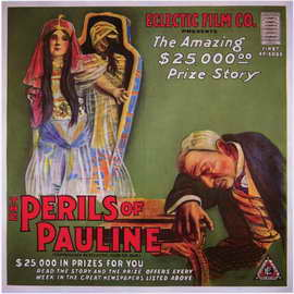 The Perils of Pauline - 11 x 17 Movie Poster - Style B