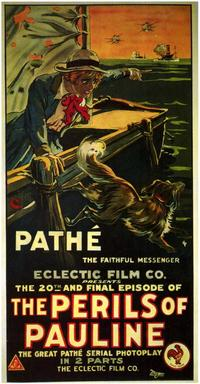 The Perils of Pauline - 27 x 40 Movie Poster - Style A