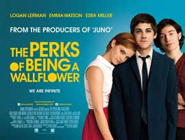 The Perks of Being a Wallflower - 30 x 40 Movie Poster UK - Style A