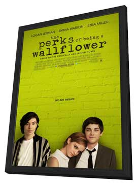 The Perks of Being a Wallflower - 27 x 40 Movie Poster - Style A - in Deluxe Wood Frame