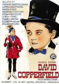 The Personal History, Adventures, Experience, & Observation of David Copperfield the Younger - 27 x 40 Movie Poster - Swedish Style A