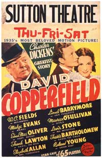 The Personal History, Adventures, Experience, & Observation of David Copperfield the Younger - 11 x 17 Movie Poster - Style E