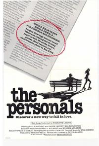 The Personals - 27 x 40 Movie Poster - Style A
