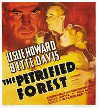 The Petrified Forest - 22 x 28 Movie Poster - Half Sheet Style A