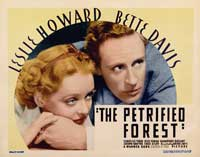 The Petrified Forest - 22 x 28 Movie Poster - Half Sheet Style B
