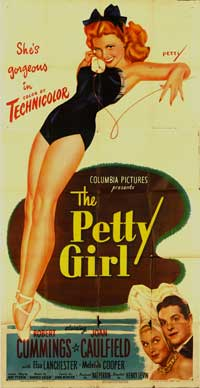 The Petty Girl - 11 x 17 Movie Poster - Style B