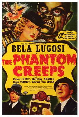 The Phantom Creeps - 27 x 40 Movie Poster - Style A