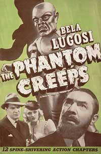 The Phantom Creeps - 11 x 17 Movie Poster - Style D