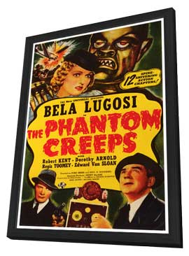 The Phantom Creeps - 27 x 40 Movie Poster - Style A - in Deluxe Wood Frame
