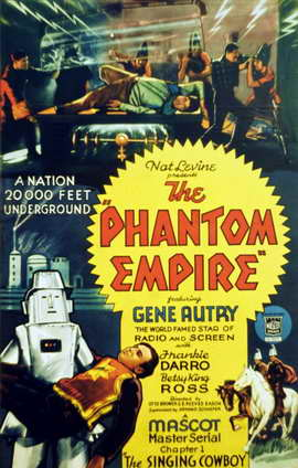 The Phantom Empire - 11 x 17 Movie Poster - Style A