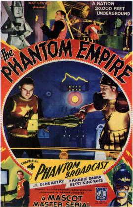 The Phantom Empire - 11 x 17 Movie Poster - Style H