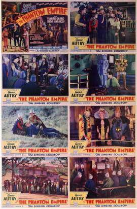 The Phantom Empire - 11 x 17 Movie Poster - Style J