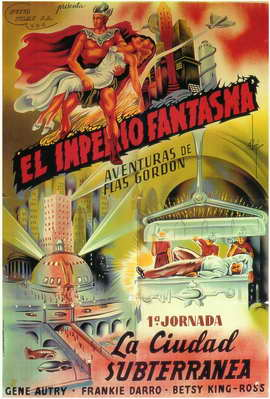 The Phantom Empire - 11 x 17 Movie Poster - Spanish Style A