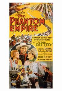 The Phantom Empire - 27 x 40 Movie Poster - Style B