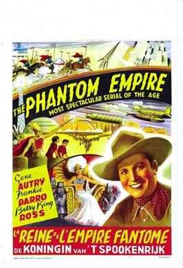 The Phantom Empire - 27 x 40 Movie Poster - Belgian Style A