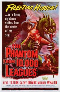 The Phantom From 10,000 Leagues - 11 x 17 Movie Poster - Style A