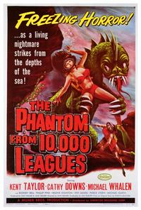 The Phantom From 10,000 Leagues - 27 x 40 Movie Poster - Style A