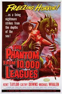 The Phantom From 10,000 Leagues - 43 x 62 Movie Poster - Bus Shelter Style A