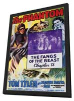 The Phantom - 27 x 40 Movie Poster - Style A - in Deluxe Wood Frame