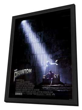 The Phantom - 27 x 40 Movie Poster - Style B - in Deluxe Wood Frame