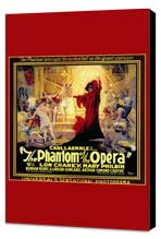 The Phantom of the Opera - 11 x 17 Movie Poster - Style C - Museum Wrapped Canvas