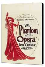 The Phantom of the Opera - 11 x 17 Movie Poster - Style G - Museum Wrapped Canvas