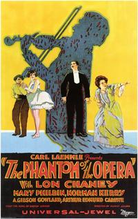 The Phantom of the Opera - 11 x 17 Movie Poster - Style F