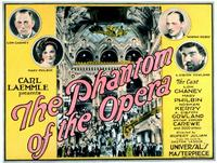 The Phantom of the Opera - 11 x 14 Movie Poster - Style D