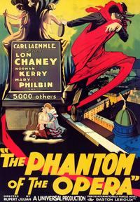 The Phantom of the Opera - 43 x 62 Movie Poster - Bus Shelter Style A