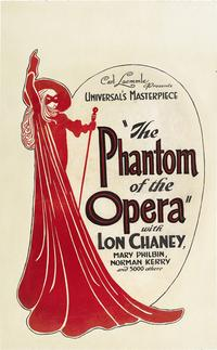 The Phantom of the Opera - 43 x 62 Movie Poster - Bus Shelter Style B