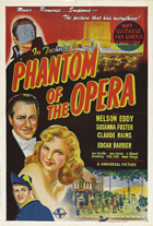 The Phantom of the Opera - 11 x 17 Movie Poster - Australian Style A