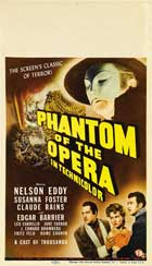 The Phantom of the Opera - 27 x 40 Movie Poster - Style C