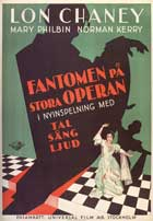 The Phantom of the Opera - 27 x 40 Movie Poster - Swedish Style A