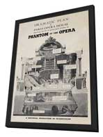 The Phantom of the Opera - 11 x 17 Movie Poster - Style B - in Deluxe Wood Frame