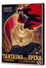 The Phantom of the Opera - 27 x 40 Movie Poster - Foreign - Style A - Museum Wrapped Canvas