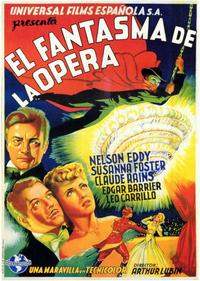 The Phantom of the Opera - 11 x 17 Movie Poster - Spanish Style A