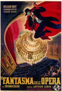 The Phantom of the Opera - 27 x 40 Movie Poster - Foreign - Style A