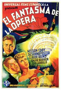 The Phantom of the Opera - 27 x 40 Movie Poster - Spanish Style A