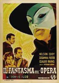 The Phantom of the Opera - 11 x 17 Movie Poster - Italian Style A