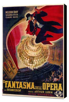 The Phantom of the Opera - 11 x 17 Poster - Foreign - Style A - Museum Wrapped Canvas